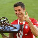 UEFA Ligue des Champions. Robert Lewandowski a inscrit le 50e but de la Ligue des champions