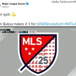 Le MLS. Buks Adam But du match en championnat. je vois