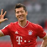 "Robert Lewandowski en Europe est le meilleur footballeur du mois d'octobre ""Whoscored"""