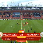 Widzew Łódź - Arka Gdynia City 2-1 - abréviation (Sports Photos 11). je vois
