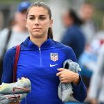 Deux fois champion du monde de football infecté par Alex Morgan-19 Covid